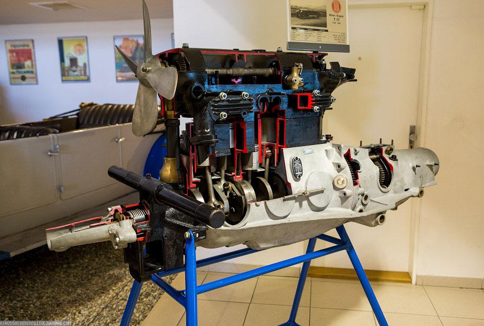1925. Шестицилиндровый двигатель для модели Tatra 17