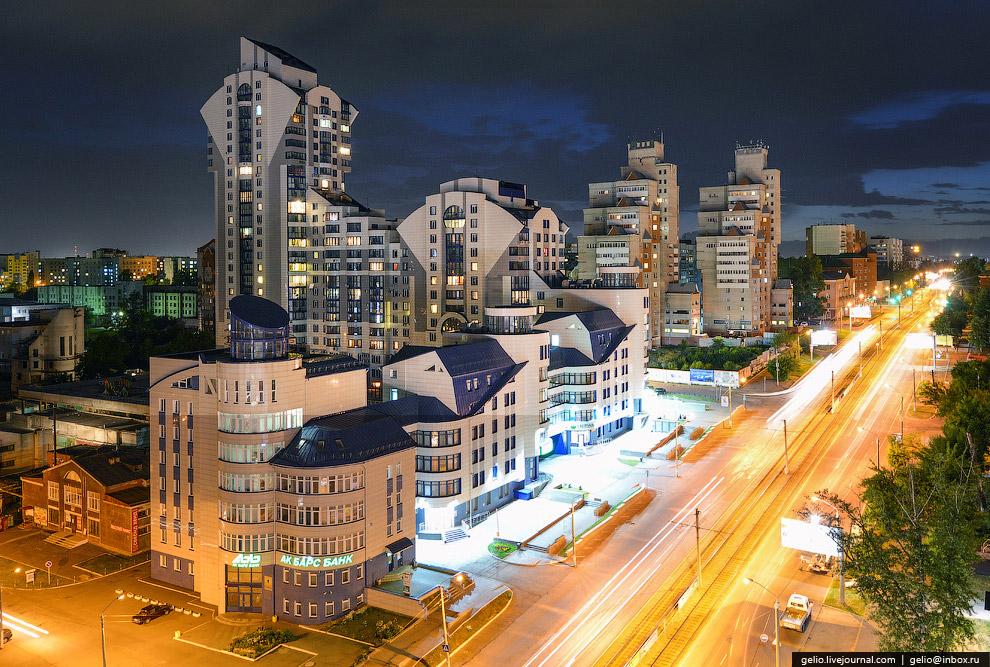 ЖК «Анастасия» - самое высокое здание Барнаула и одно из самых высоких жилых зданий в Сибири.
