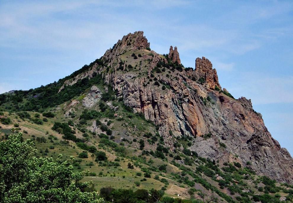 Черная гора Кара-Даг