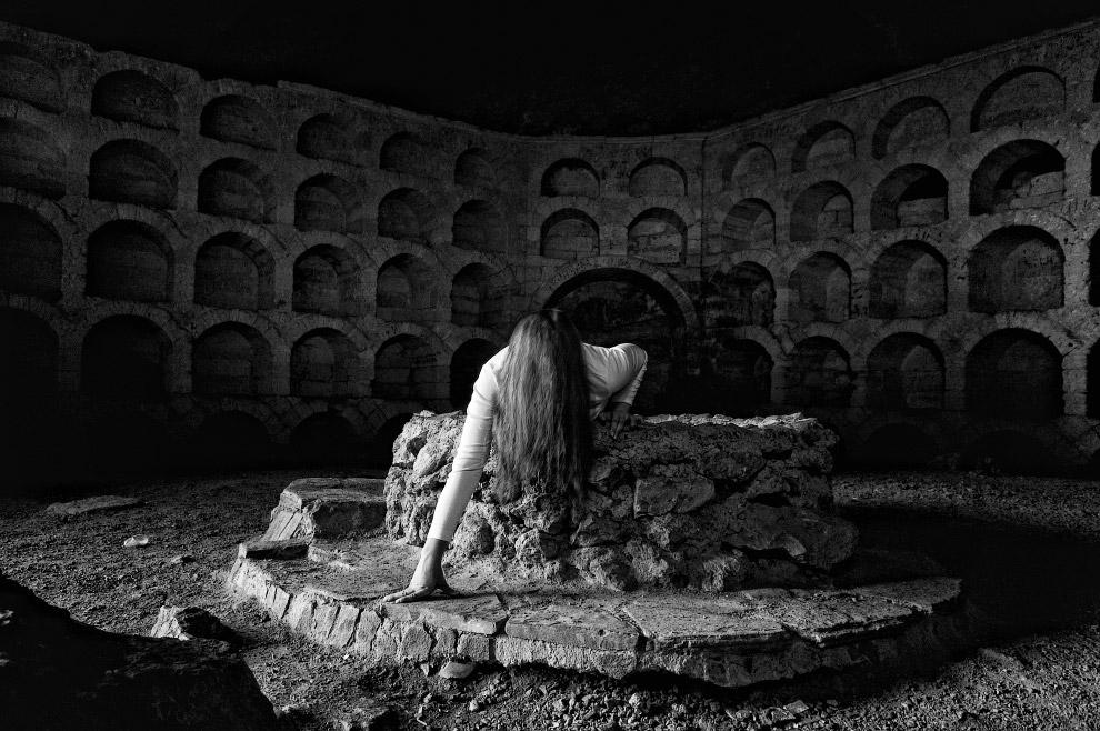 В пещерах Крыма