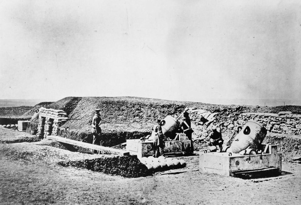 Артиллерия британских войск