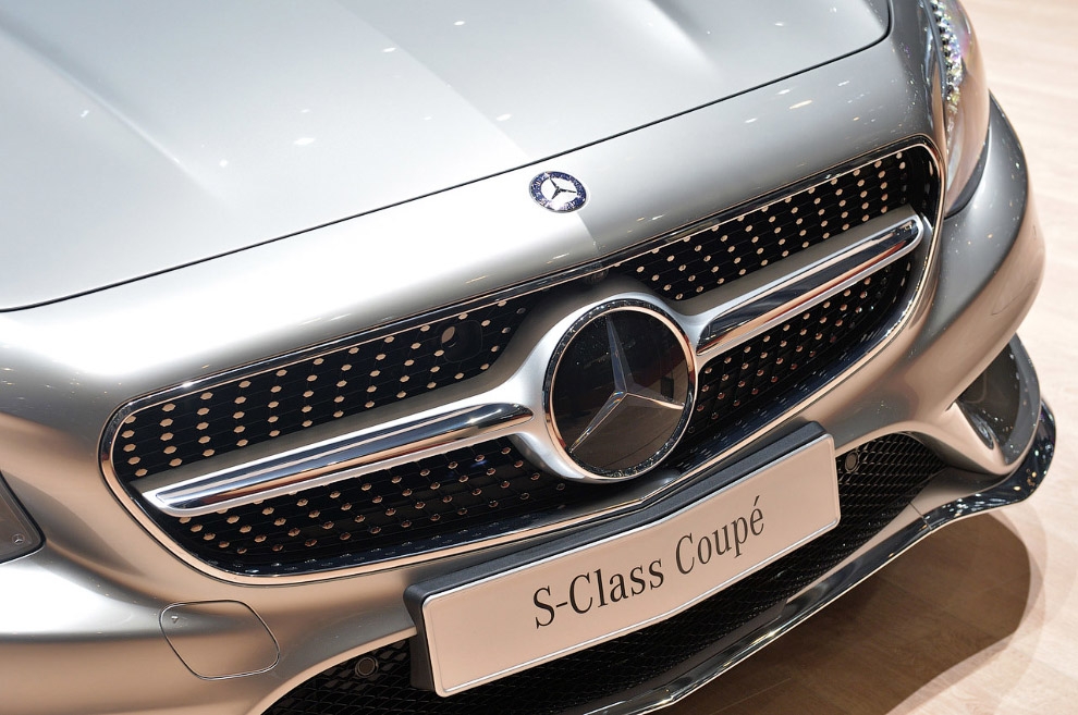 Большое купе Mercedes-Benz S-Class 2015