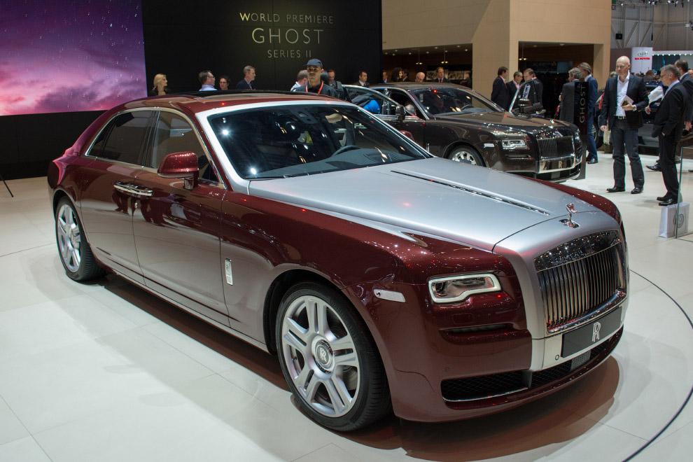 Седан Rolls-Royce Ghost II