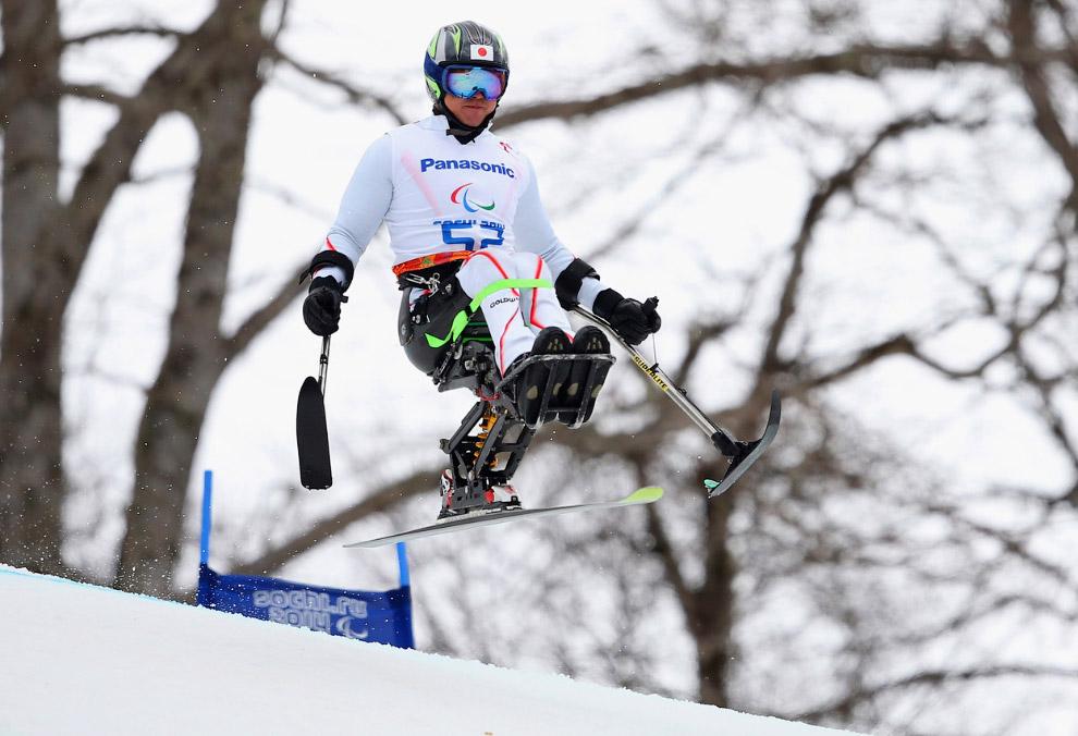 Соревнования по скоростному спуску сидя в горнолыжном спорте на зимних Паралимпийских играх 2014, 8 марта 2014
