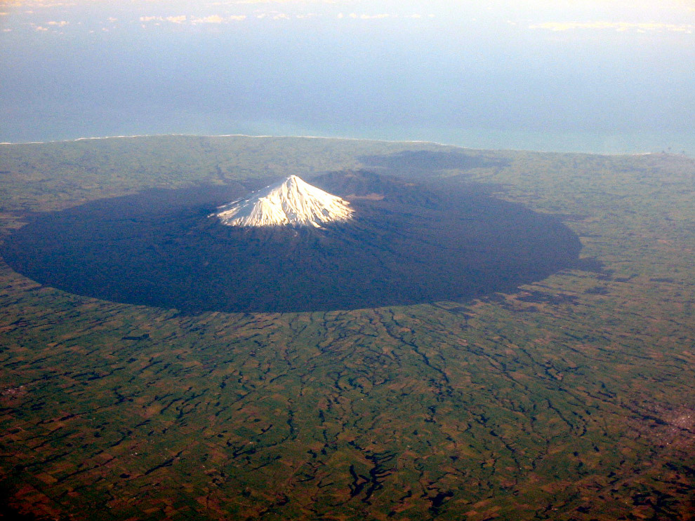 Гора Таранаки, Новая Зеландия