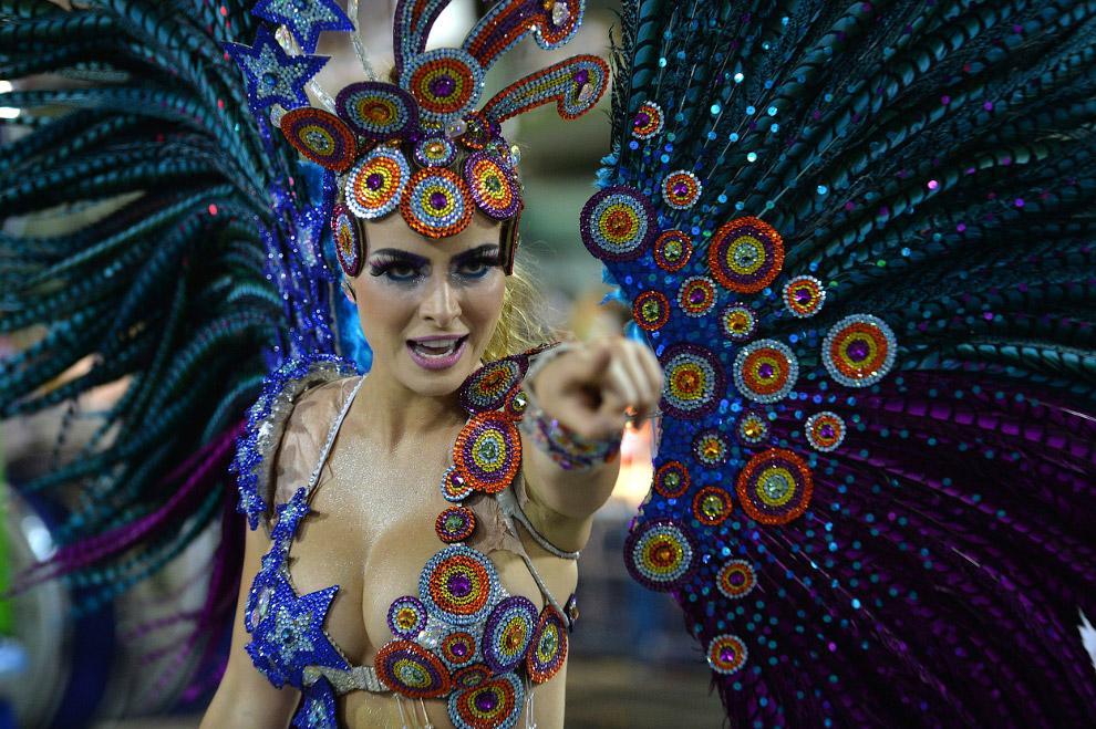 С каждым годом подготовка к бразильским карнавалам  становится все дороже. Школы самбы соревнуются между собой в сложности платформ и красочности костюмов