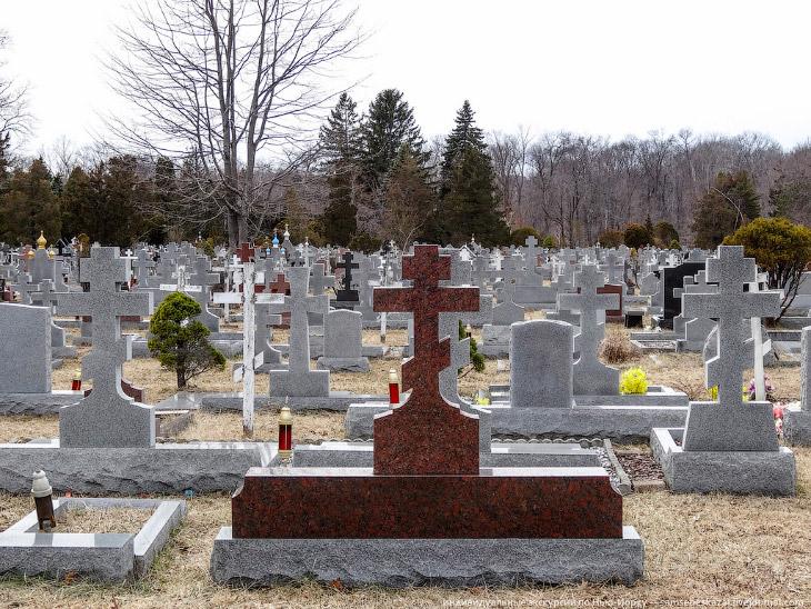 Самое большое русское кладбище в Америке
