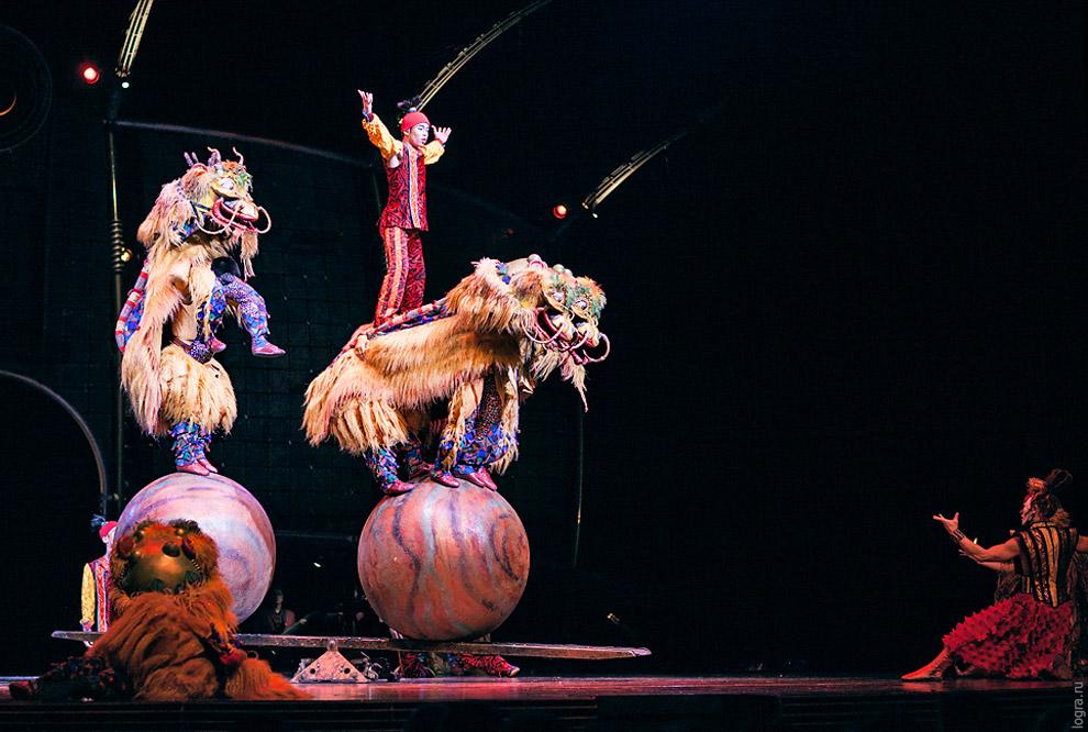 Секреты цирка Дю Солей