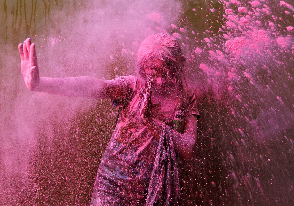 Холи 2014 — фестиваль весны и ярких красок