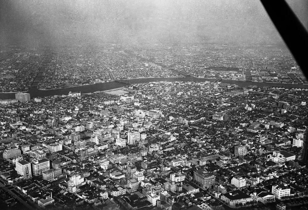 Панорама Токио