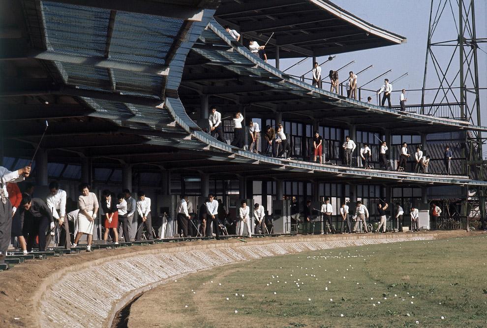 После Второй мировой войной Япония увлеклась гольфом