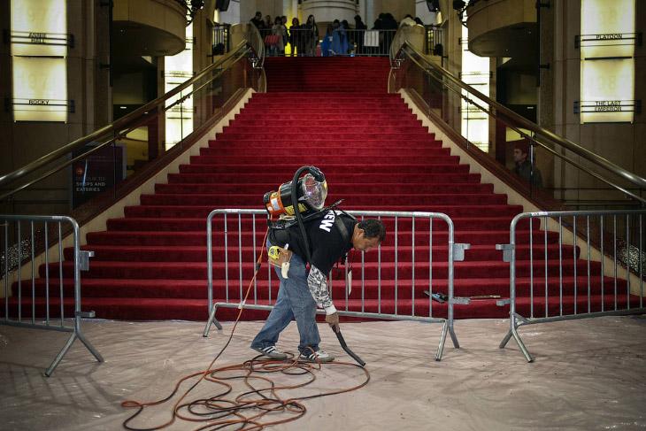 По традиции церемония вручения «Оскаров» состоялась в Лос-Анджелесе в кинотеатре «Кодак»
