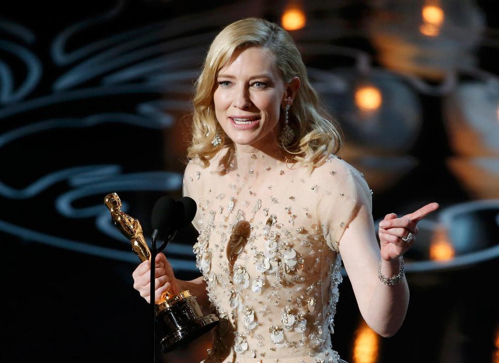Лучшая актриса — Кейт Бланшетт, получила Оскар за фильм «Жасмин»