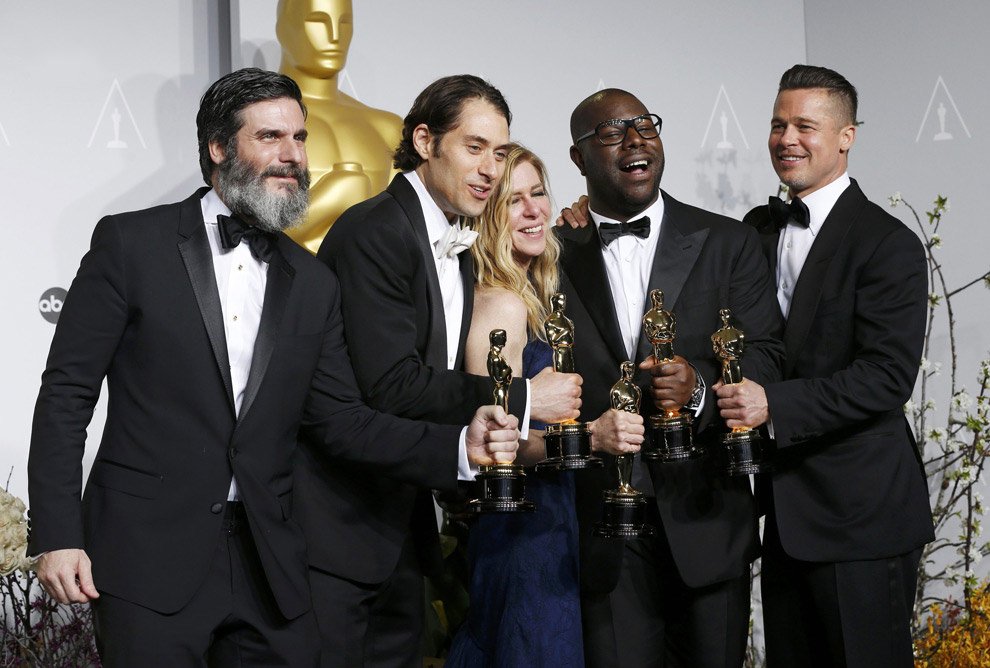 Продюсерская группа лучшего фильма года «12 лет рабства»