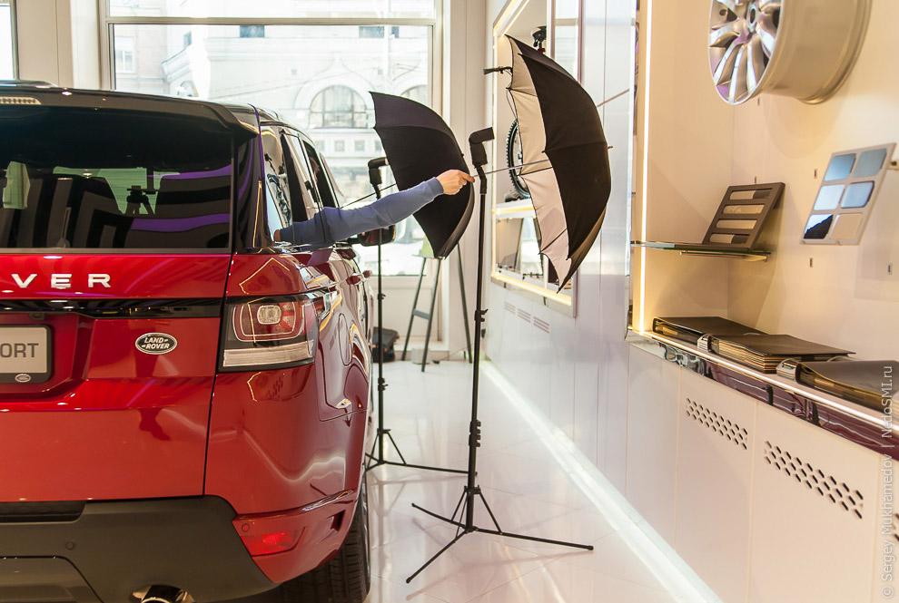 как правильно делать фото автомобиля