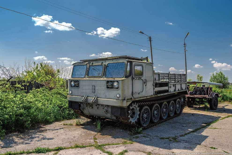 Тягач АТС-59Г