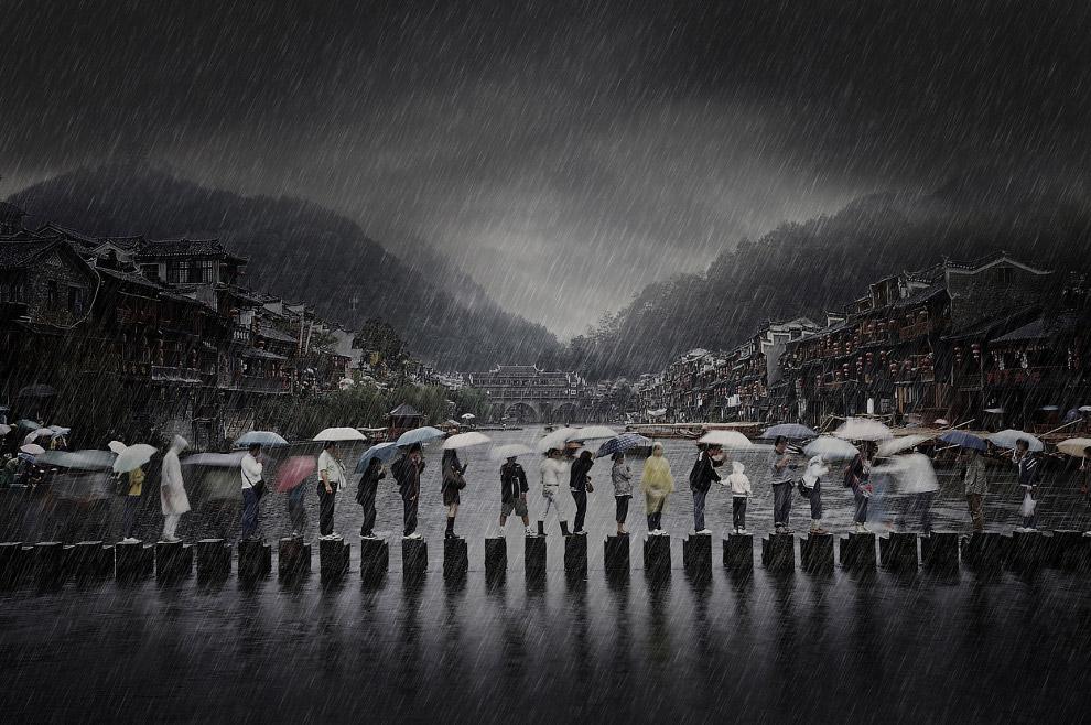 Сезон дождей на юге Китая
