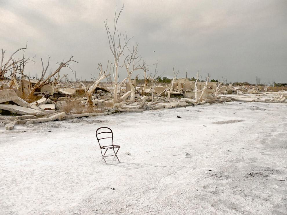 Руины городка в провинции Буэнос-Айрес, Аргентина