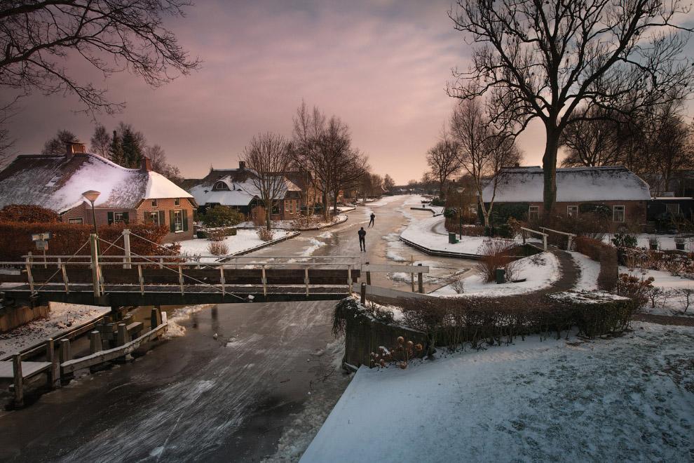 Зимние голландские пейзажи