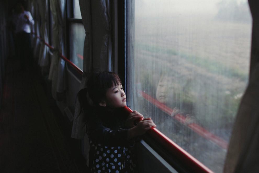 Путешествие в поезде в Китае