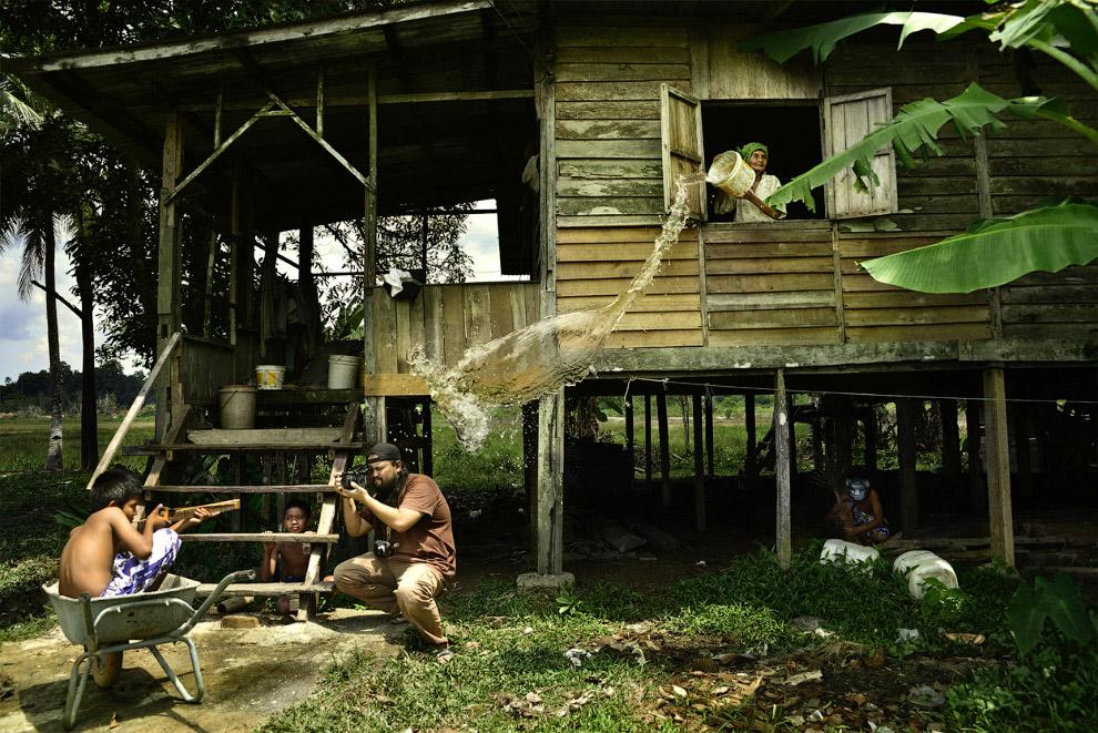 Деревня в Куантан, Паханг, Малайзия