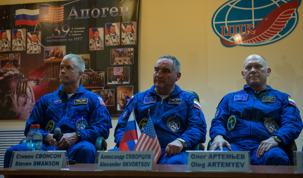Expedition 39 Press Conference