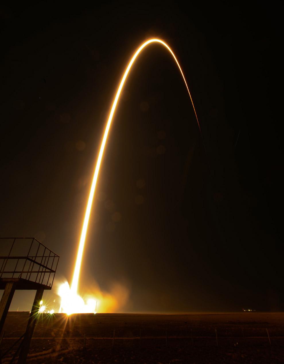 Старт космического корабля «Союз ТМА-12М»