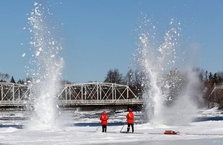 Река Ридо в Оттаве, Онтарио