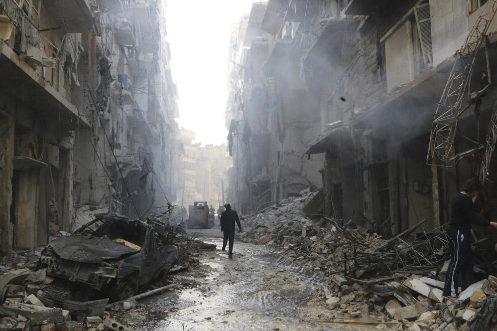 От Алеппо остаются руины, древнейший город постепенно исчезает
