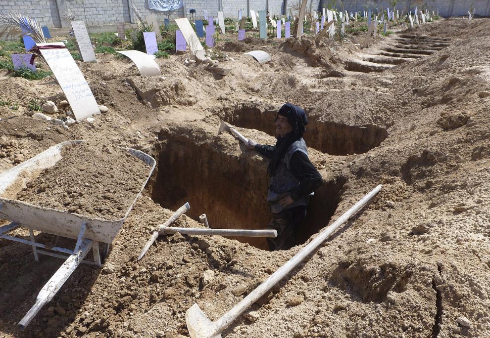 Могилы для будущих жертв
