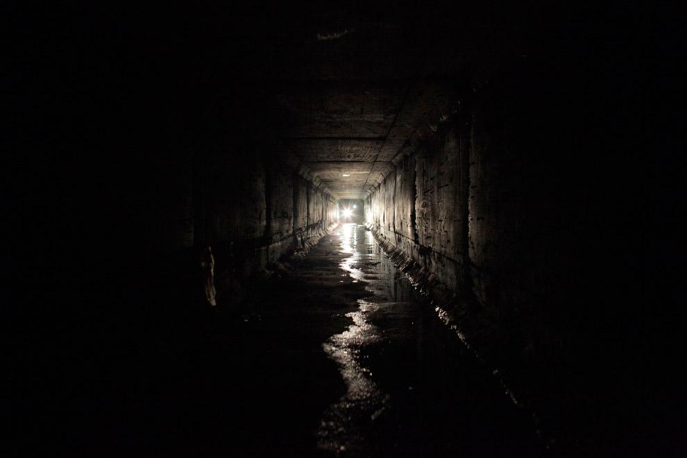 Тоннель дренажной системы города Кульякан