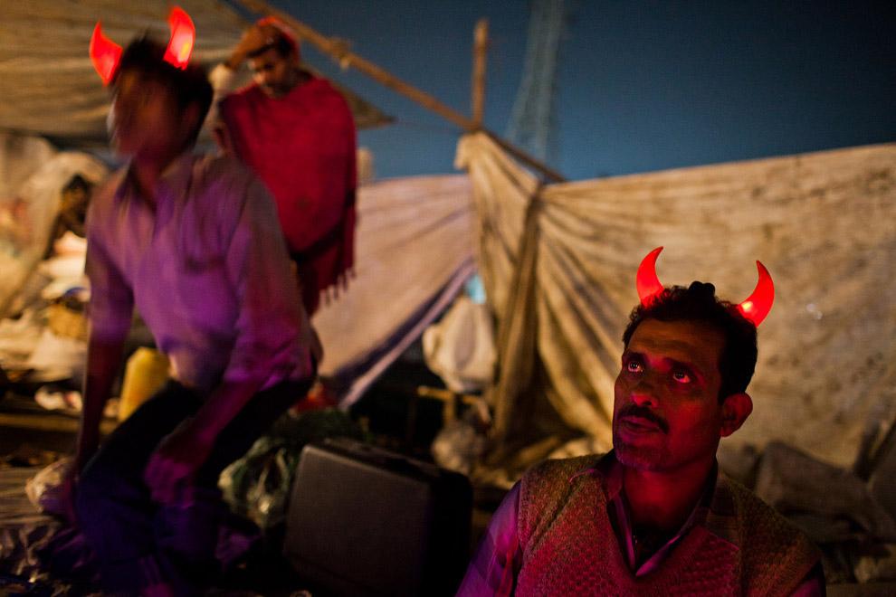 Уличные продавцы, Индия
