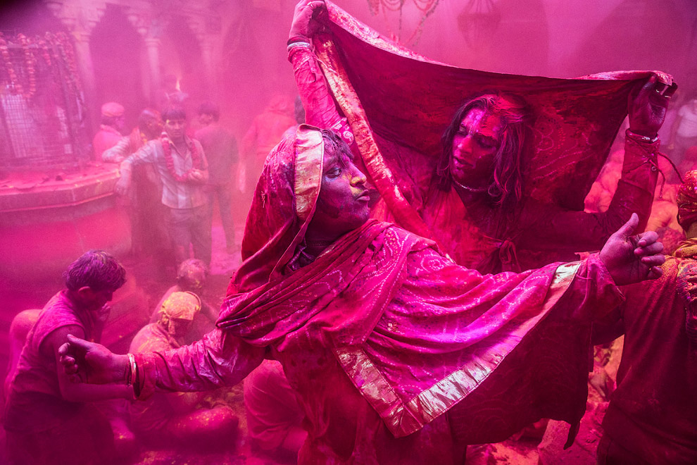 Праздник весны и красок — Холи, Индия