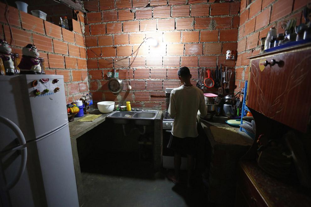 Кухня в одной из квартир