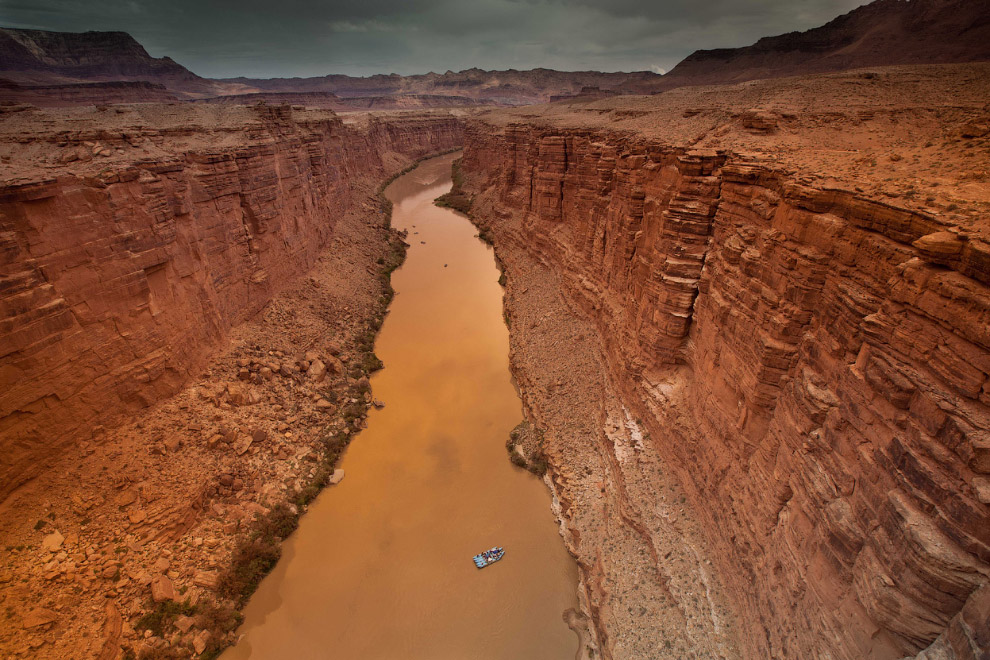 Мраморный каньон реки Колорадо