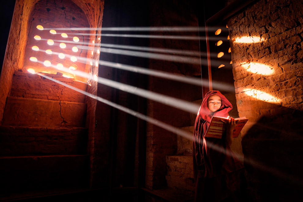 Молодой монах. Старый Баган, Бирма