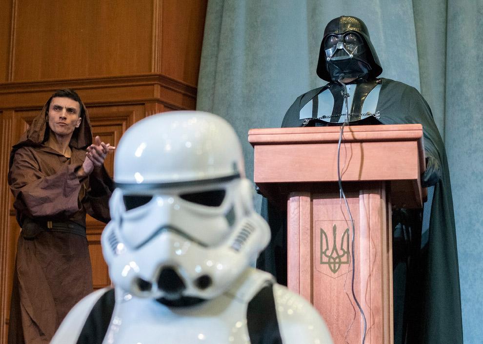 Кандидат в президенты Украины Дарт Вейдер