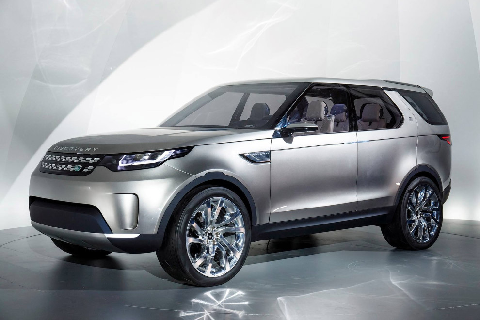 Концепт-кар Land Rover Discovery Vision