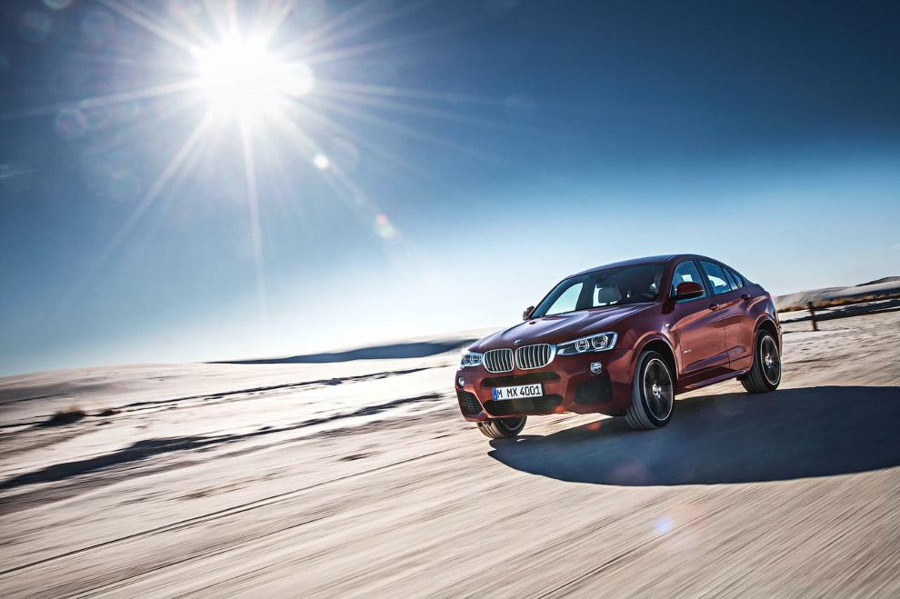 Кроссовер-купе BMW X4 2015 года