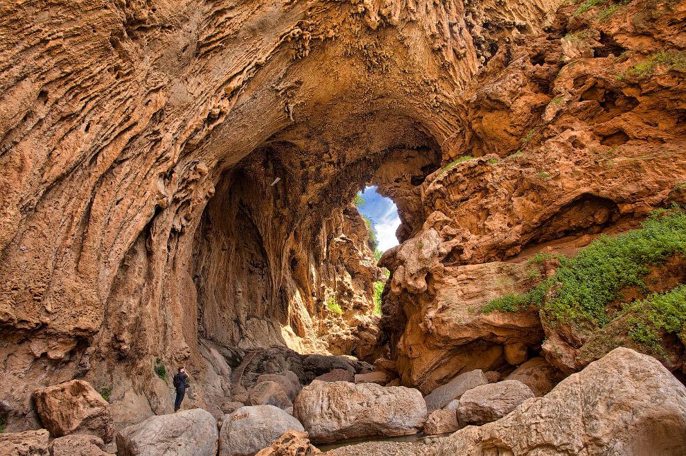 Искусственный мост в Марокко