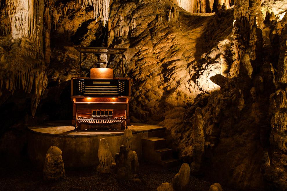 Пещеры Luray в Вирджинии