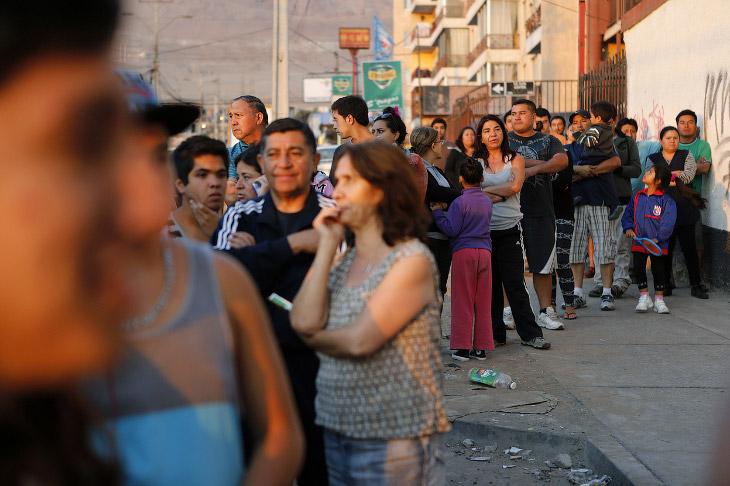 Землетрясение и цунами в Чили