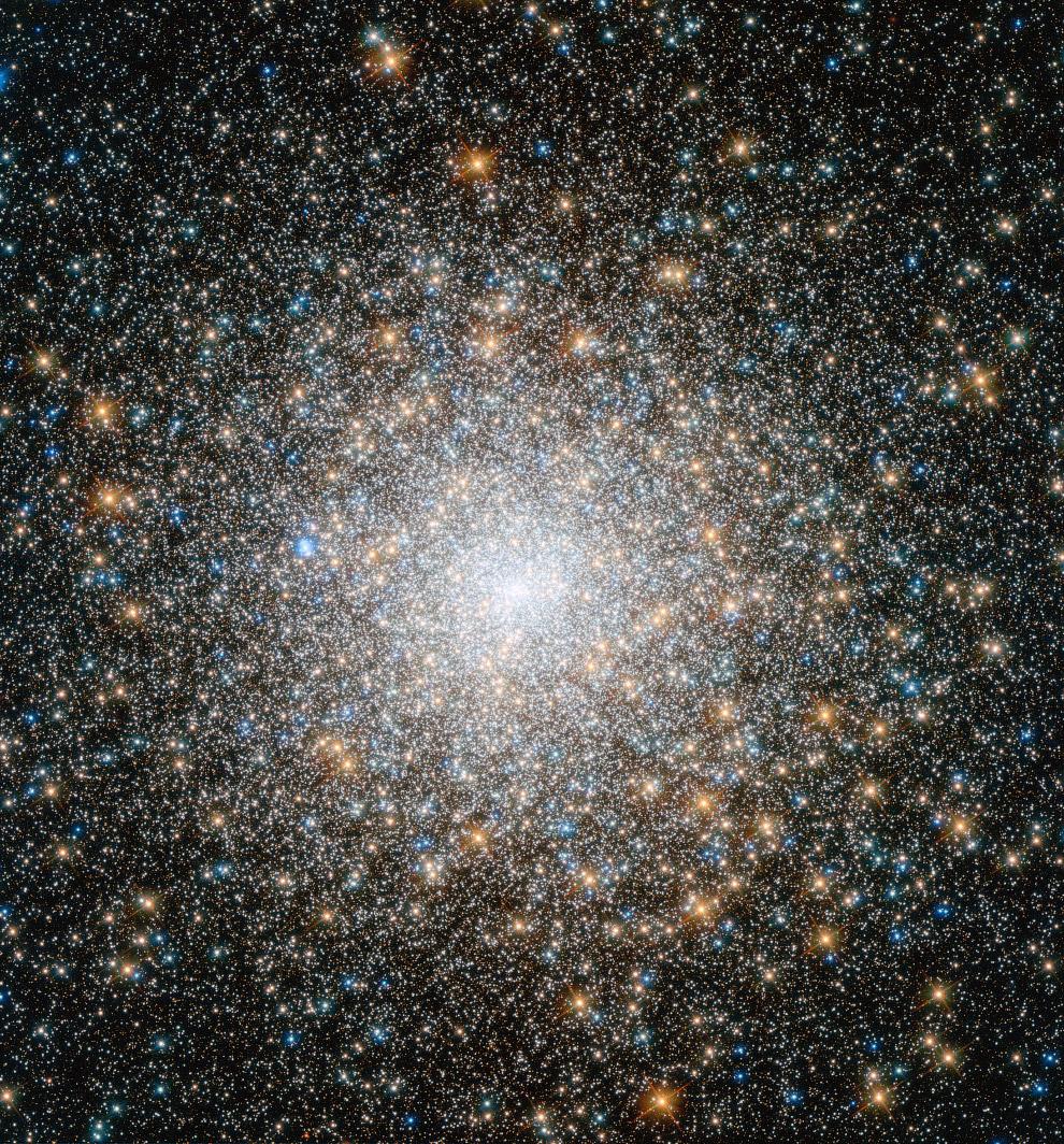 Шаровое скопление М15 в созвездии Пегаса