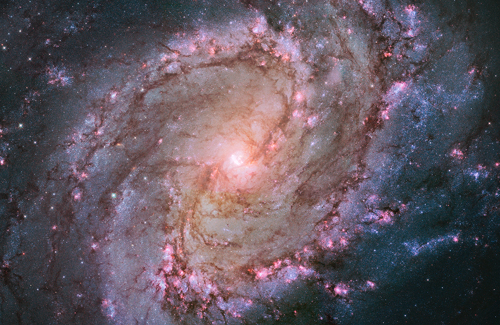 Спиральная галактика M83