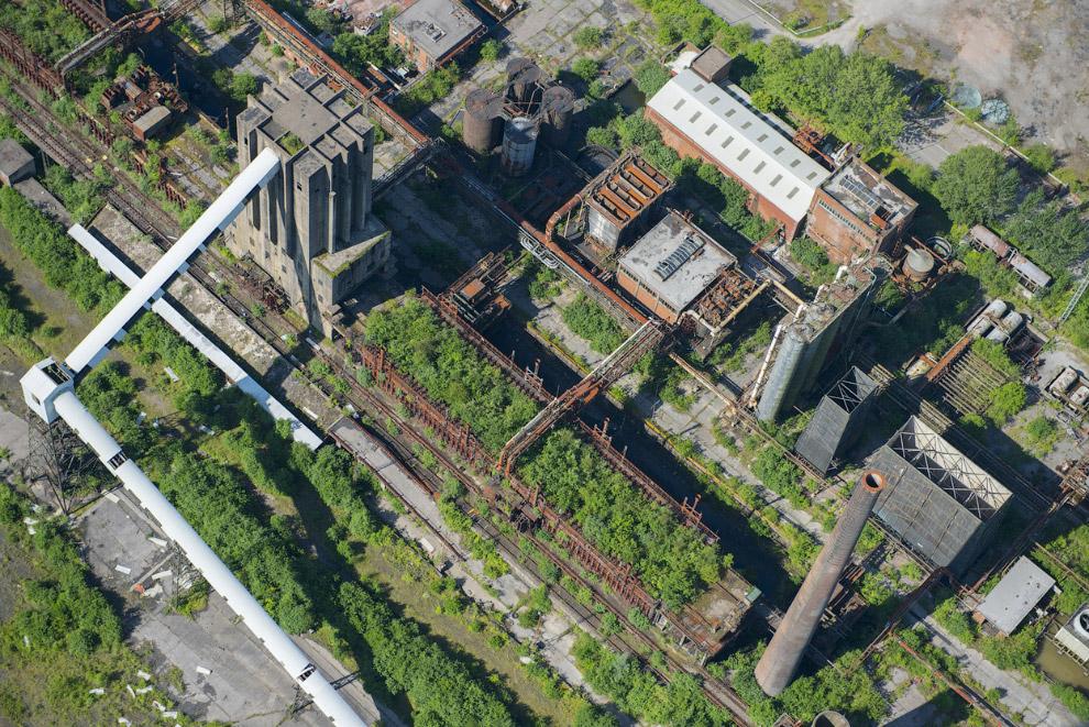 Заброшенный завод в Уэльсе