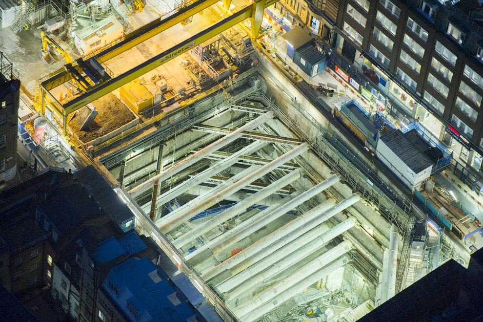 Строительство Crossrail