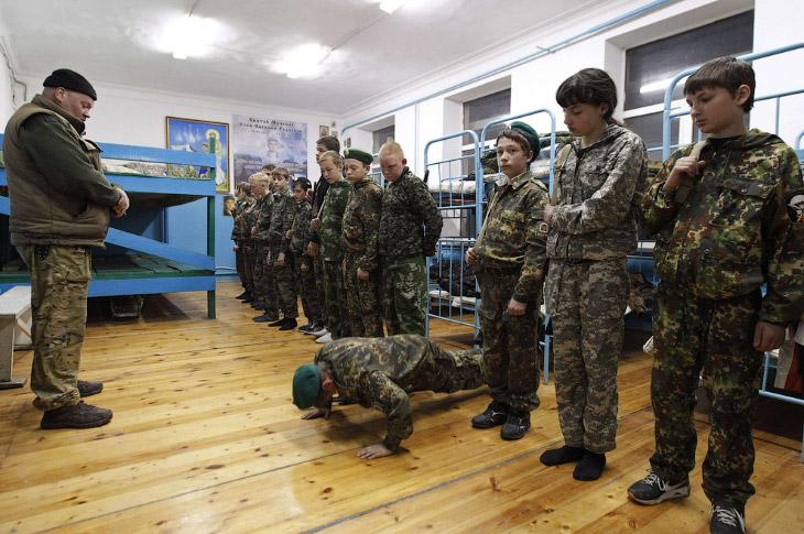 Кадетская школа в Ставрополе