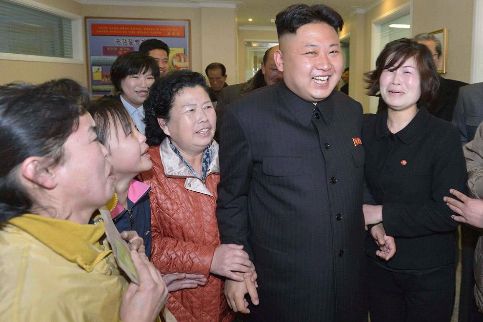 В стоматологической больнице в Пхеньяне