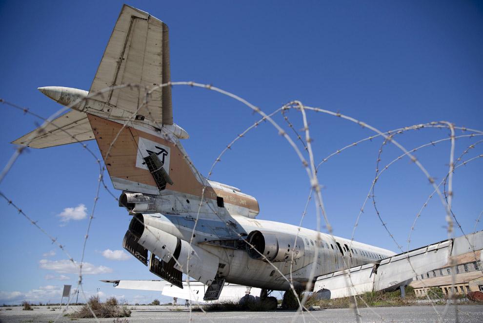 Пассажирский самолет кипрской авиакомпании доживает свой век