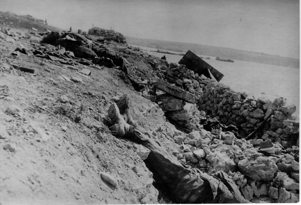 Немецкие солдаты, уничтоженные в ходе освобождения Крыма